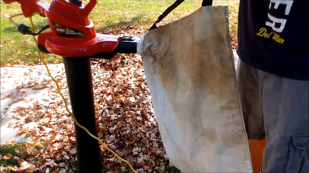 Toro 51609 Ultra with bag for leaves